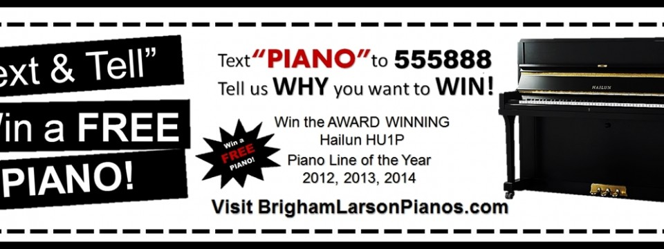 Piano Giveaway