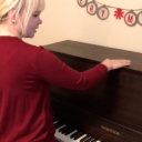 Christmas Piano Surprise! Jake and Emma's Reaction Video