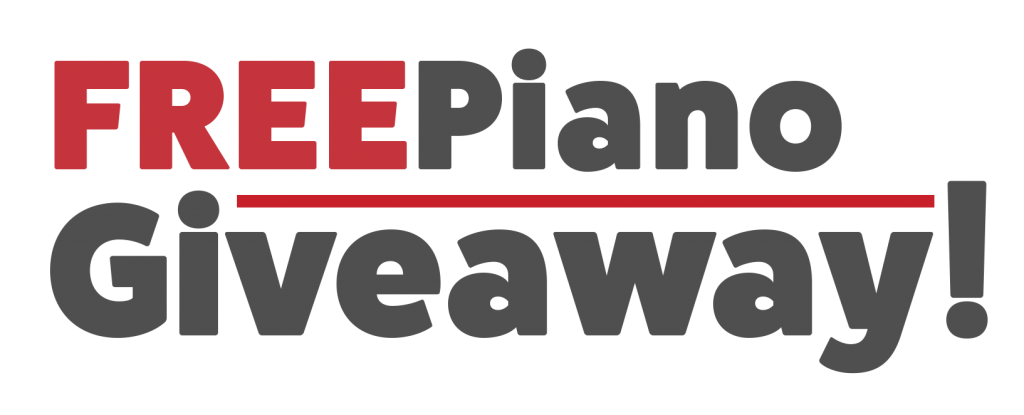 FREE Piano Giveaway