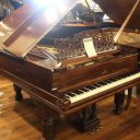 Just out of the shop! 1878 Steinway 6′ Grand Piano