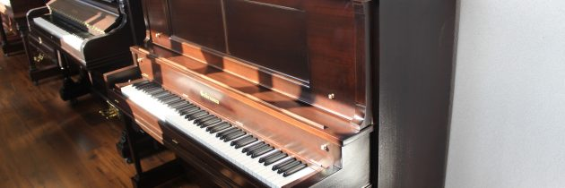 Just out of the shop! 1928 Gulbransen 50″ Upright Piano