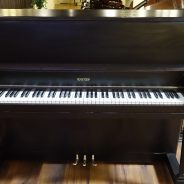 Just out of the shop! 1962 Winter 45″ Upright Piano