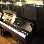 Just out of the shop! 1976 Helman 50″ Upright Piano