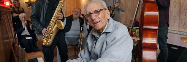 93-year-old Jazz Pianist Rediscovers his Talents, and his Hope