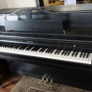 Just out of the shop! 1970's Emerson 42″ Upright Piano
