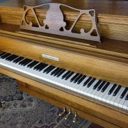 Just out of the shop! 1980 Astin Weight Upright Piano