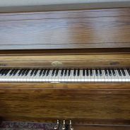 Just out of the shop! 1980 Wurlitzer 45″ Upright Piano