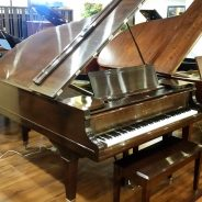 Just out of the shop! 1885 Knabe 6' Grand Piano