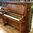 Just out of the shop! 1911 Marshall & Wendell 56″ Upright Piano